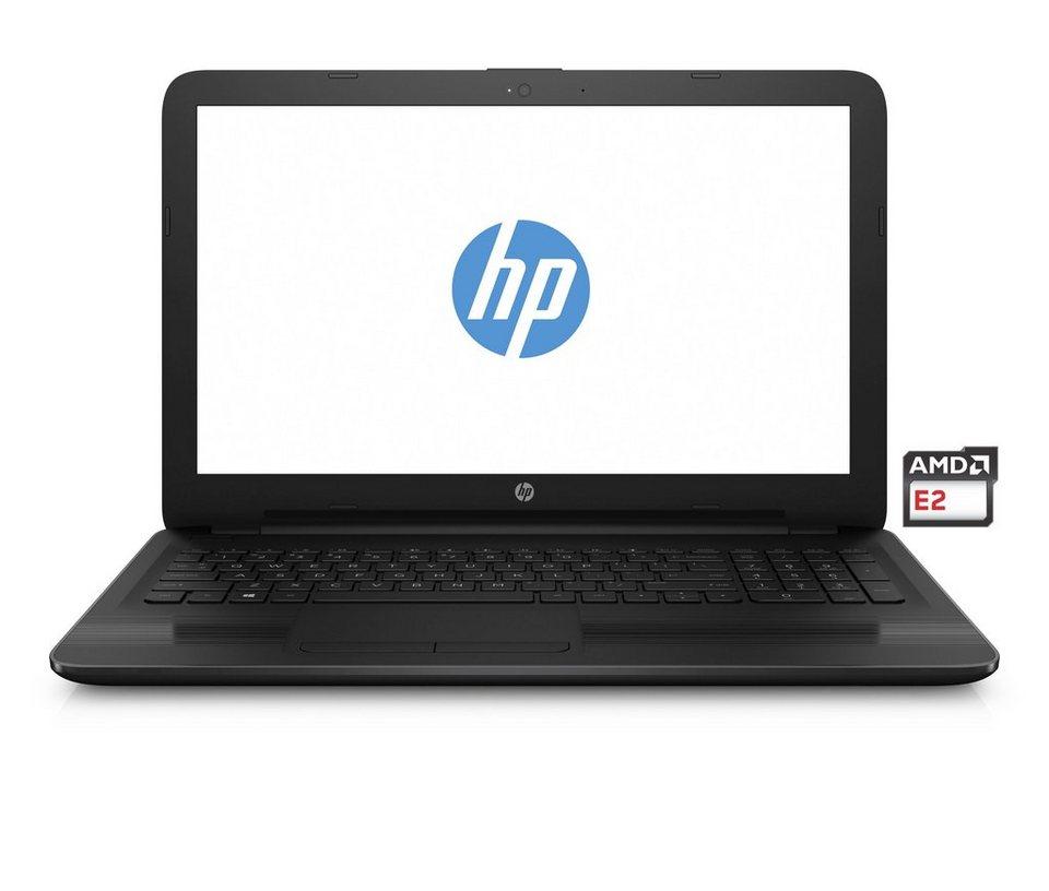 """HP 15-ba010ng Notebook »AMD E2-7110, 39,6cm (15,6""""), 500 GB HDD, 4 GB« in schwarz"""