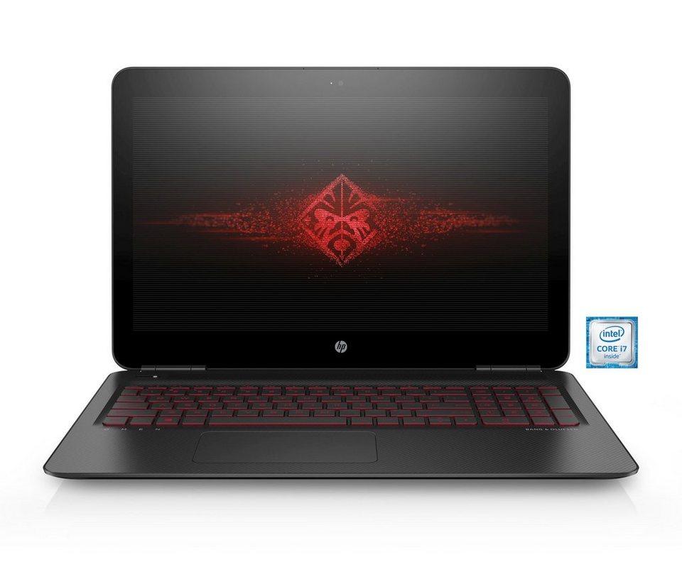 "HP Omen 15-ax005ng Gaming Notebook »Intel Core i7, 39,6cm (15,6""), 128 GB + 1 TB, 8 GB« in schwarz"