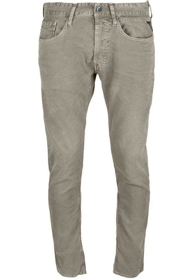 REPLAY Jeans »NEWBILL Used-Look« in mud