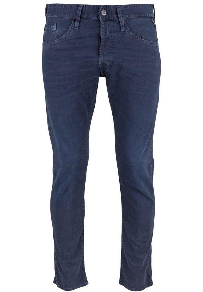 REPLAY Jeans »WAITOM DARK BLUE« in blue