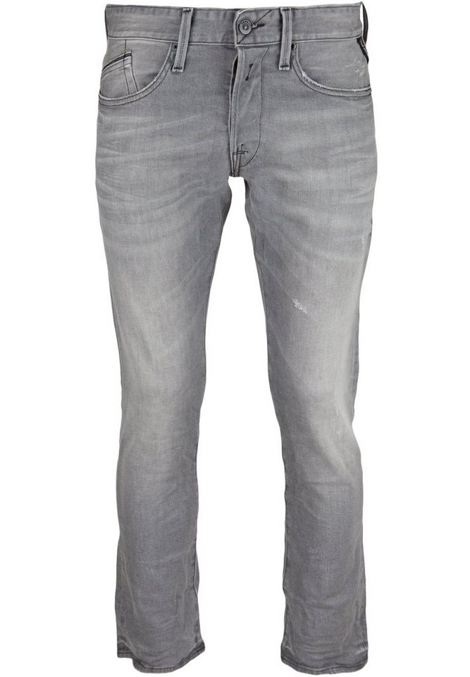 REPLAY Jeans »WAITOM DESTROYED« in grey