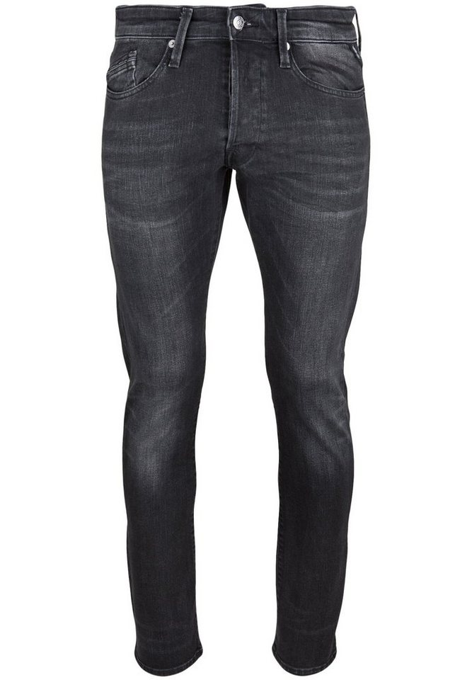 REPLAY Jeans »WAITOM BLACK« in black
