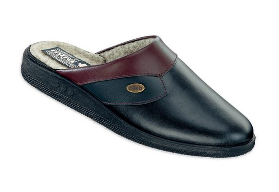 Leather Slippers, Intra, Unlined