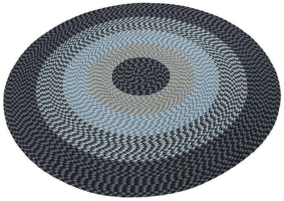 Teppich, rund, Home affaire Collection, »Sonja« in blau