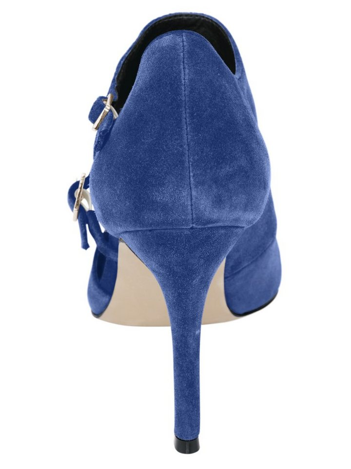 Heine Pumps in royalblau