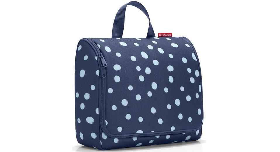 reisenthel® Kosmetiktasche spots navy, »toiletbag XL«