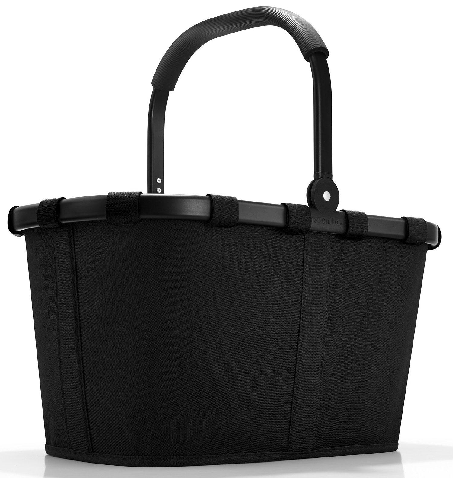 reisenthel® Einkaufskorb black/black, »carrybag frame«