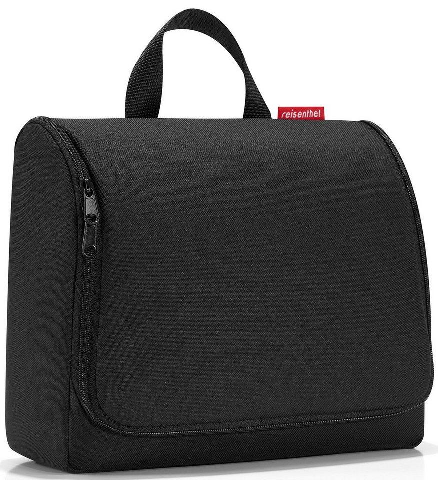 reisenthel® Kosmetiktasche black, »toiletbag XL« in schwarz
