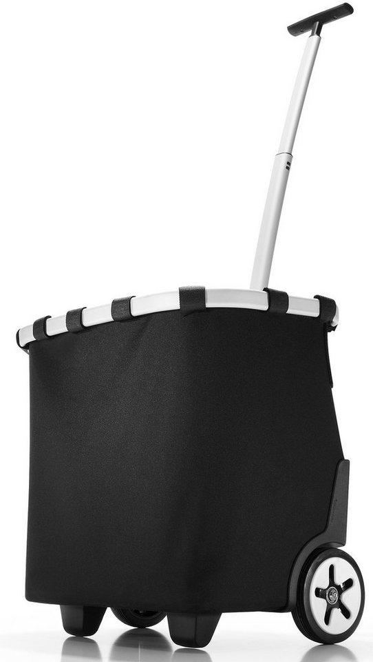 reisenthel® Einkaufsroller black, »carrycruiser« in schwarz/silberfarben
