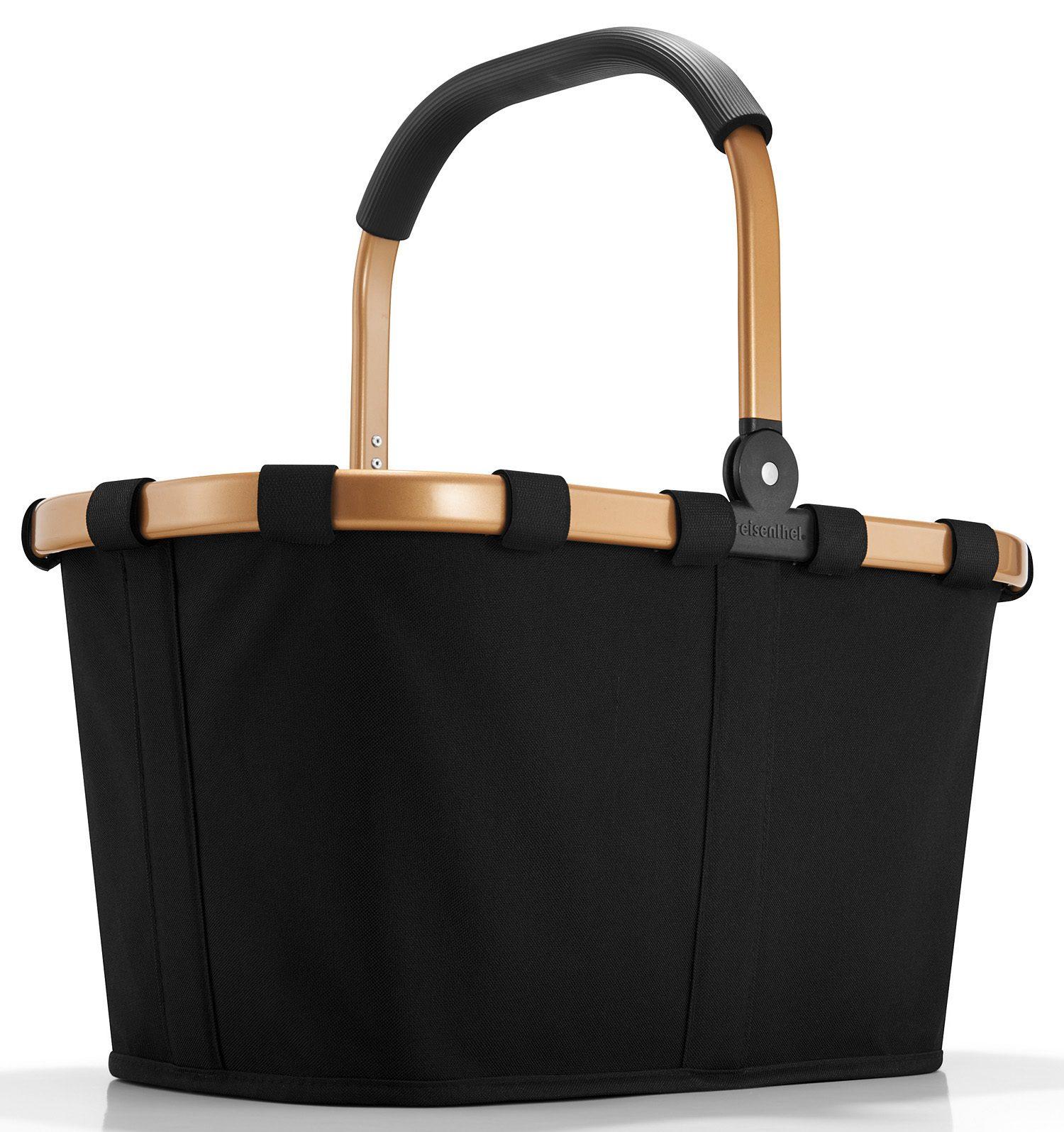 reisenthel® Einkaufskorb gold/black, »carrybag frame«