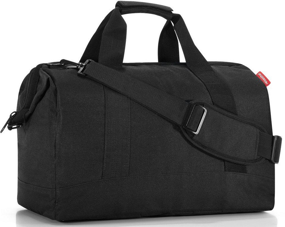 reisenthel® Reisetasche black, »allrounder L« in schwarz
