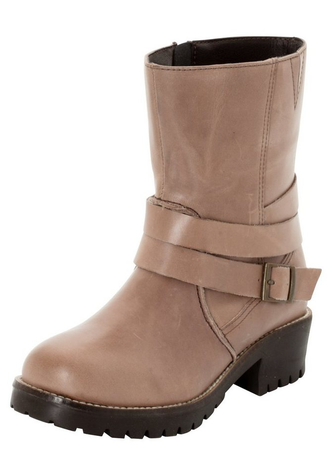 Sheego Shoes Stiefelette in beige