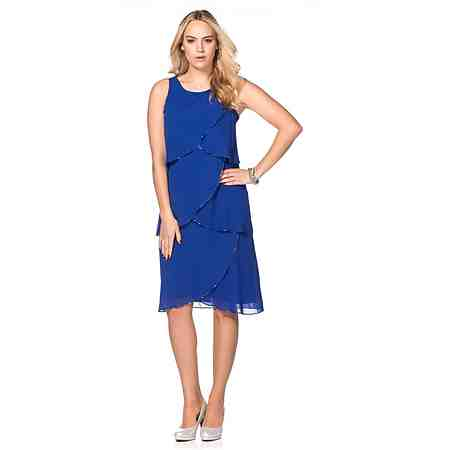 sheego Style Kleid mit Volants