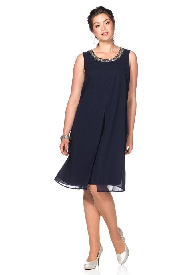 Sheego Style Kleid in marine