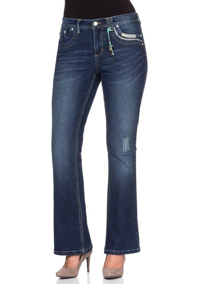 Joe Browns Bootcut Stretch-Jeans Joe Browns in dark blue denim