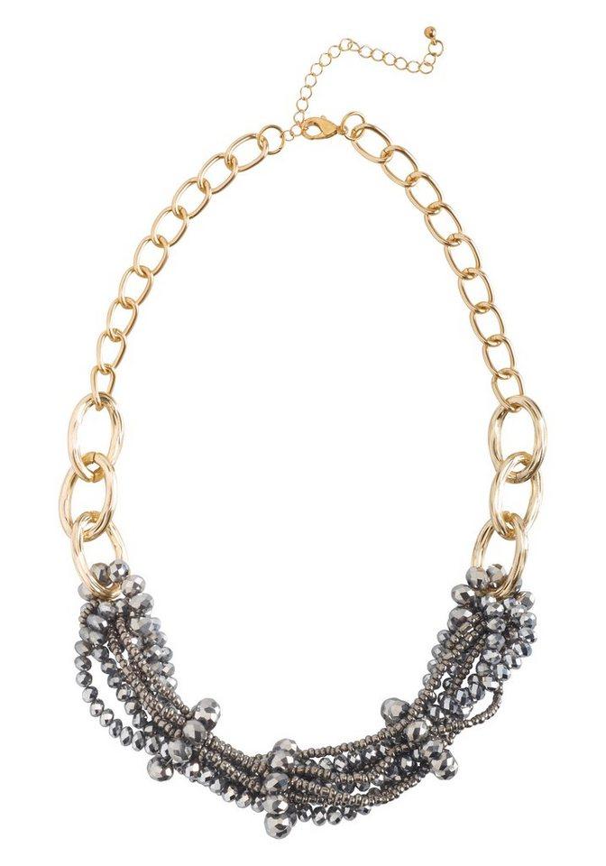 sheego Trend Collier in goldfarben-anthrazit