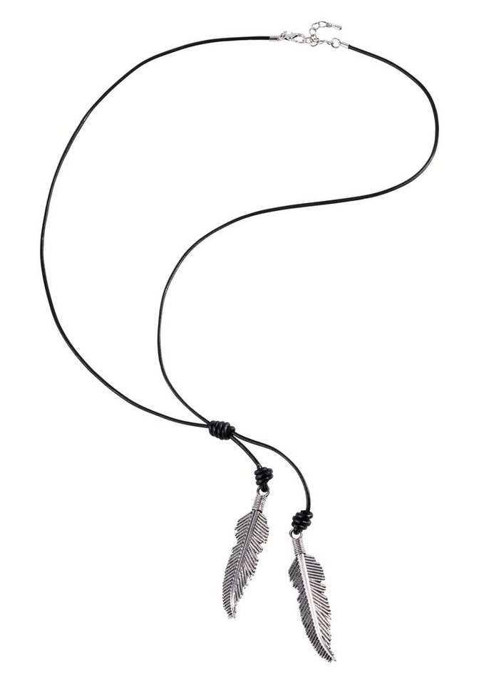 sheego Casual Kette in schwarz-silberfarben