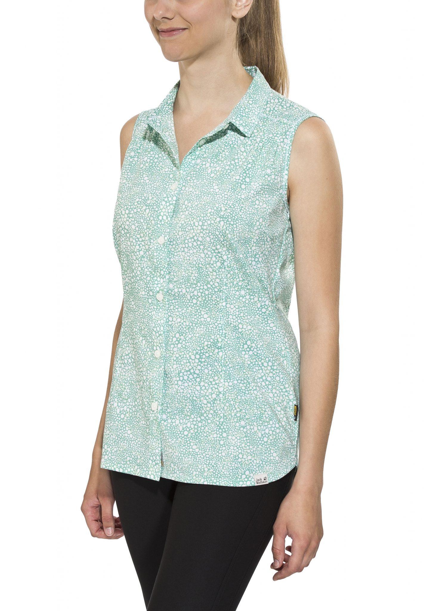 Jack Wolfskin Bluse »Wahia Print Sleeveless Shirt Women«