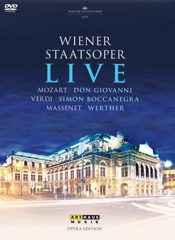 DVD »Wiener Staatsoper Live (3 Discs)«