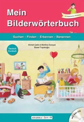Gebundenes Buch »Mein Bilderwörterbuch, Deutsch - Kurdisch, m....«