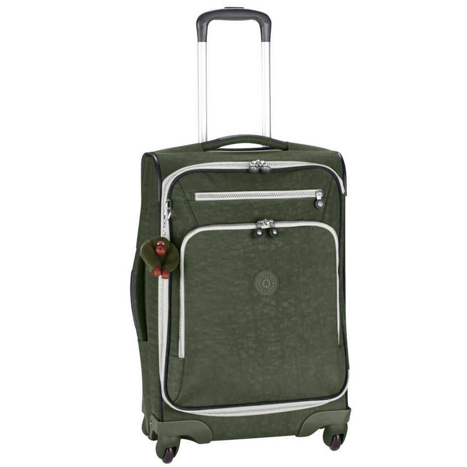 Kipling Basic Travel 4-Rollen Trolley Youri Spin 55 cm in cactus khaki ct