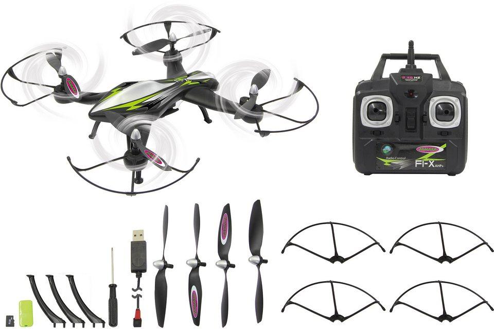 JAMARA Quadrocopter mit Kamera, »F1X Altitude HD AHP+ 2,4GHz schwarz« in schwarz