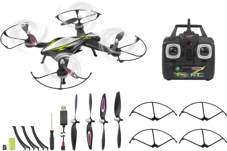 JAMARA Quadrocopter mit Kamera, »F1X Altitude HD AHP+ 2,4GHz schwarz«