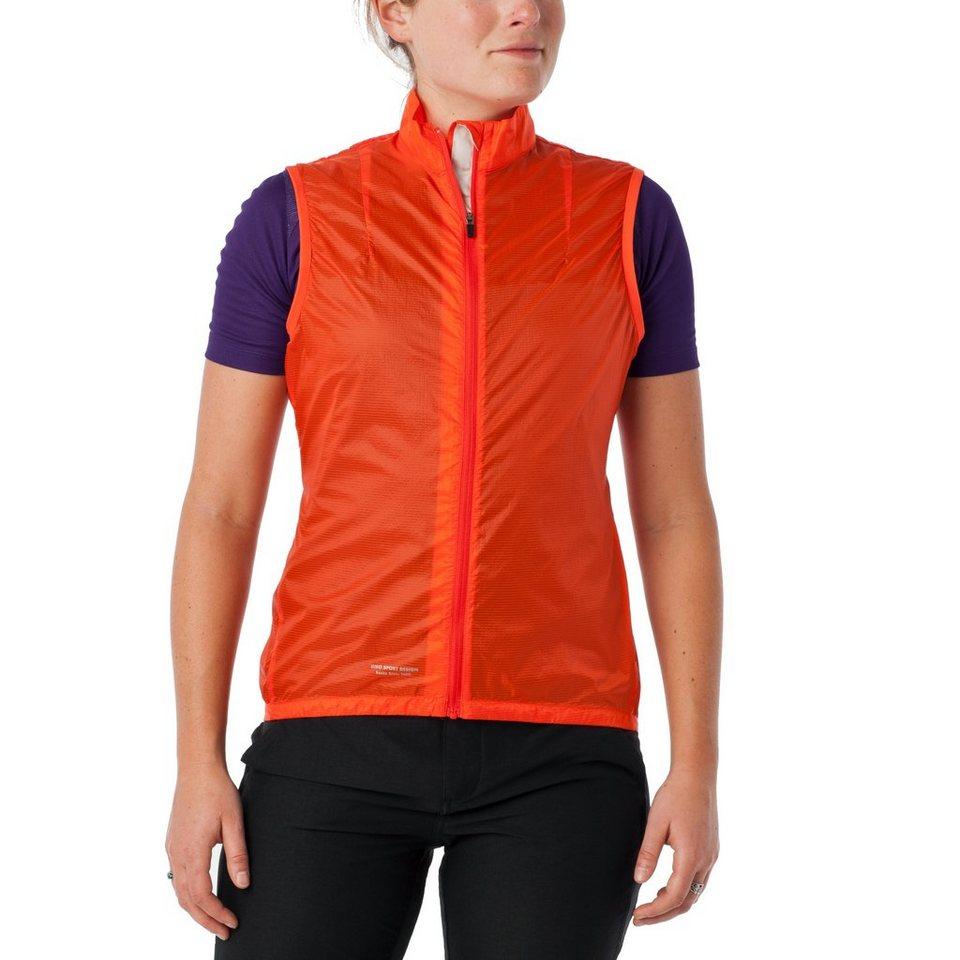 Giro Weste »Wind Vest Women« in rot