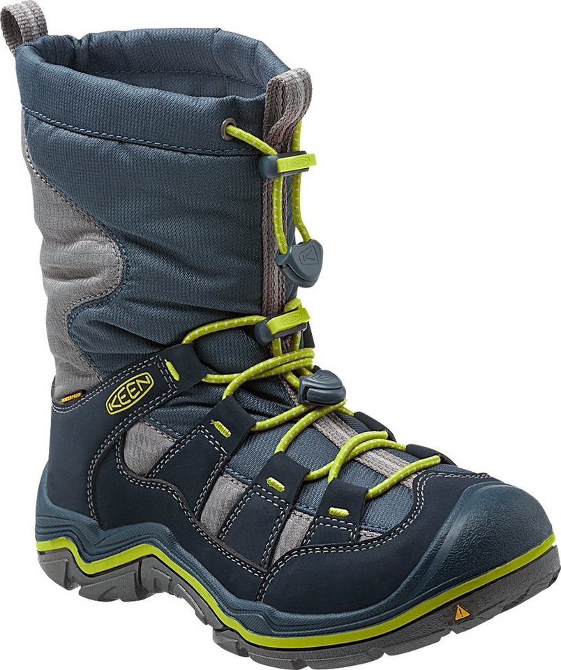 Keen Stiefel »Winterport II WP Shoes Youth« in blau
