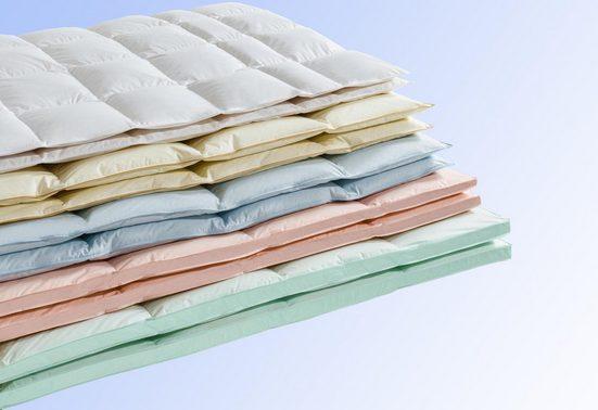 Daunenbettdecke, »Überraschungspaket«, Haeussling, Füllung: 90% Daunen, 10% Federn, Bezug: 100% Baumwolle
