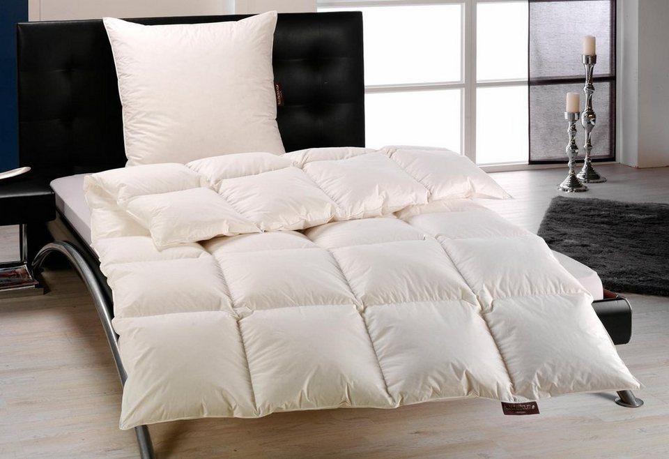 Daunenbettdecke Häussling Überraschungspaket, Extra Warm, 90% Daunen, 10% Federn