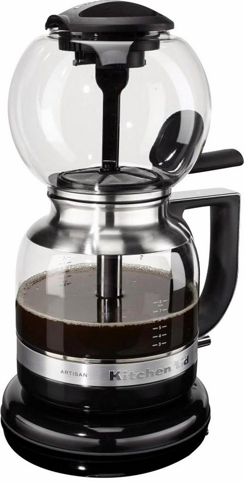 kitchenaid siphon kaffeebr her artisan 5kcm0812 onyx schwarz online kaufen otto. Black Bedroom Furniture Sets. Home Design Ideas