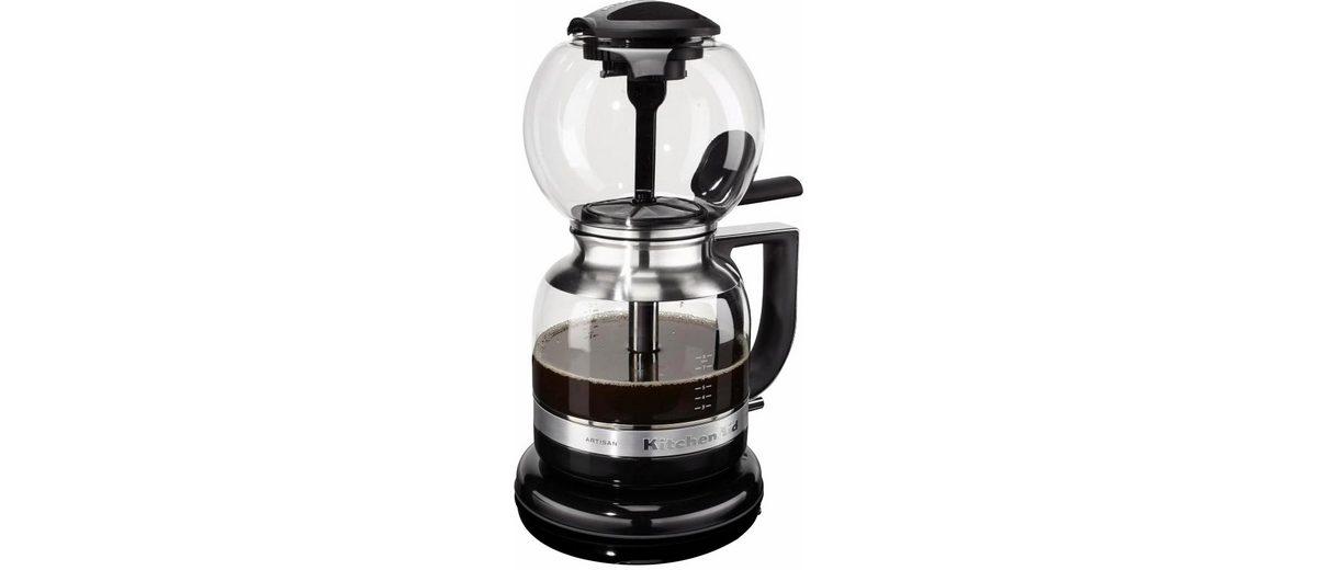 KitchenAid® Siphon-Kaffeebrüher »Artisan 5KCM0812«, onyx schwarz