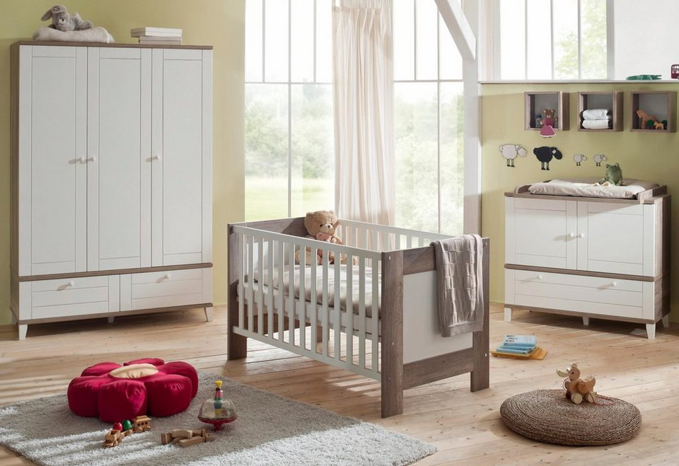 komplett babyzimmer bella im landhausstil babybett. Black Bedroom Furniture Sets. Home Design Ideas
