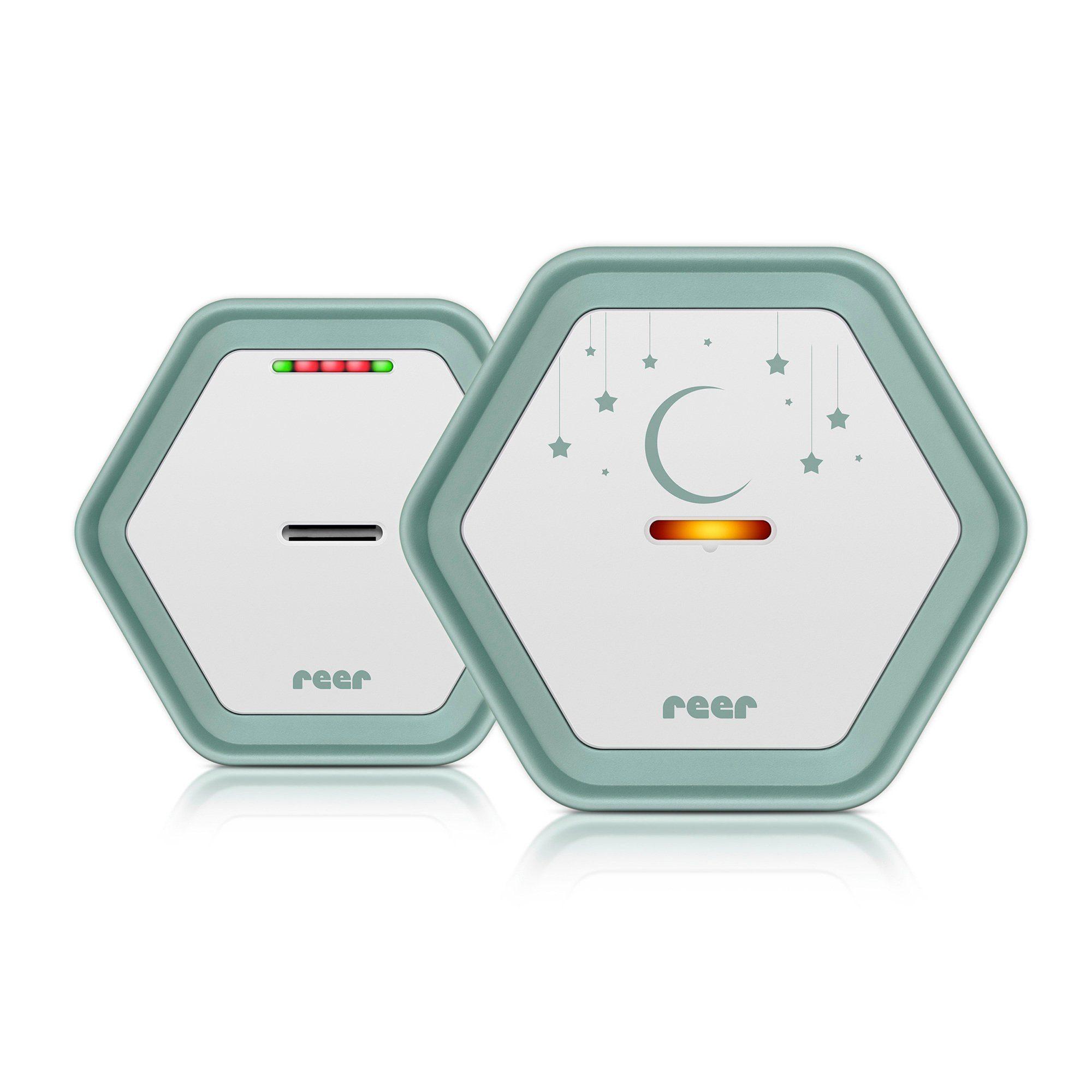 reer Babyphone BeeConnect + Gratis LED Beruhigungslicht, 330 m