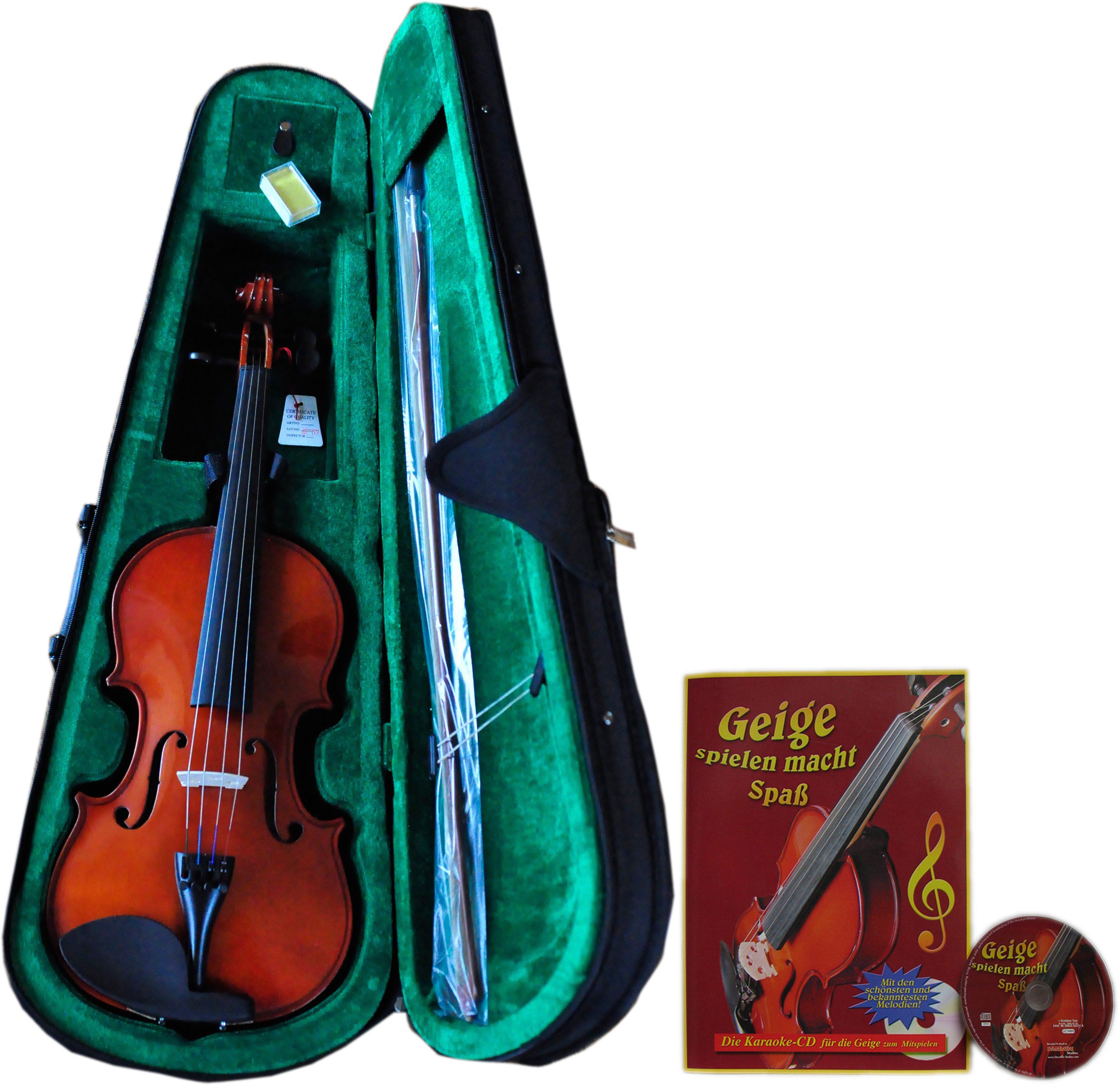 Clifton Violinen Set, »4/4 Violine mit Buch und CD«