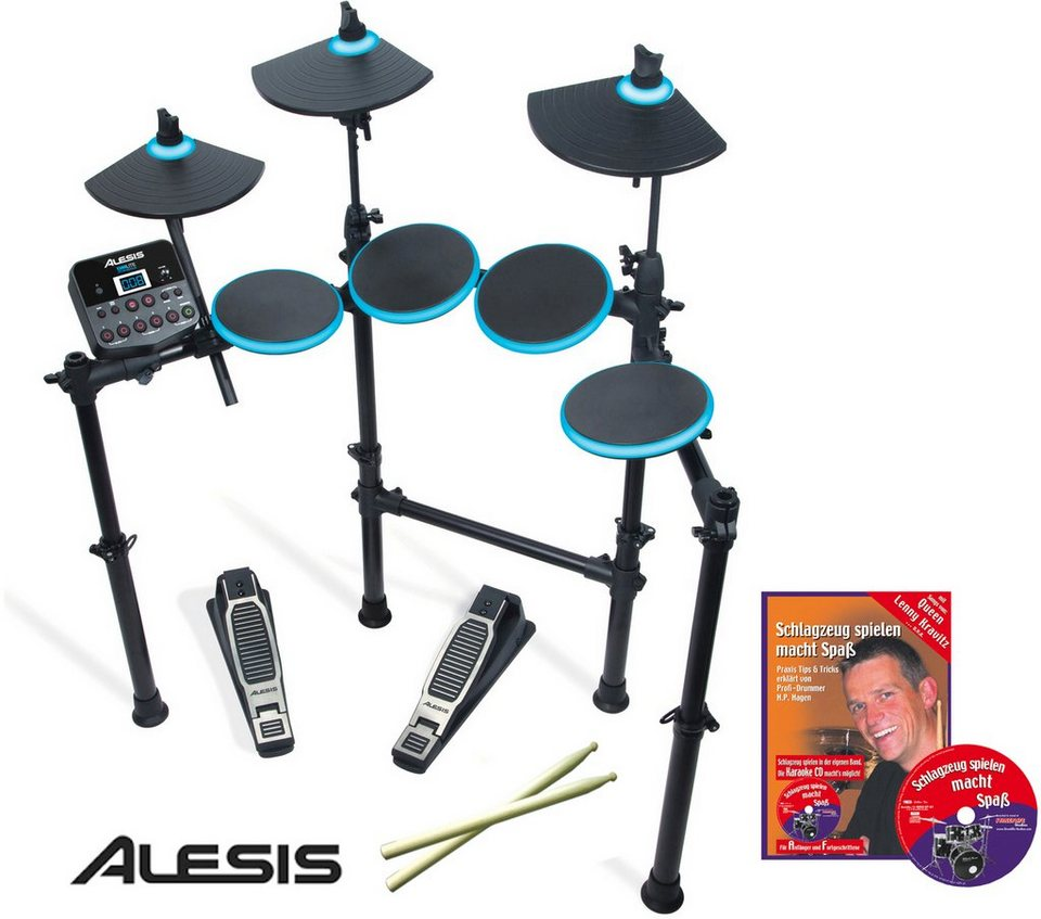 Clifton Alesis Elektronisches Schlagzeug E Drum Set DM Lite
