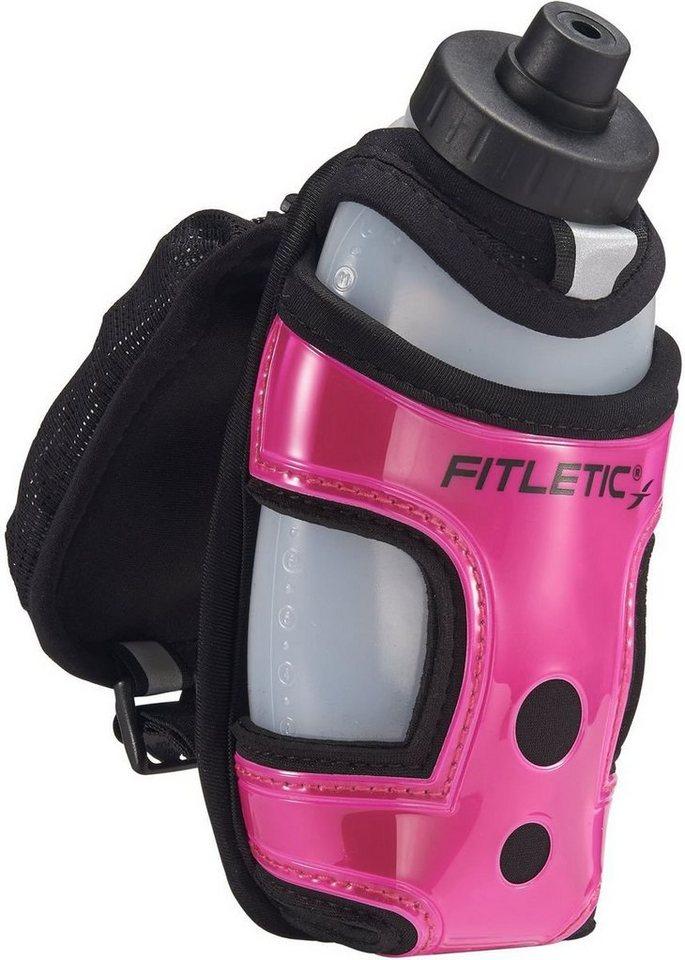 Fitletic Trinksystem »Ein-Hand Trinksystem incl. 350ml Flasche« in Pink