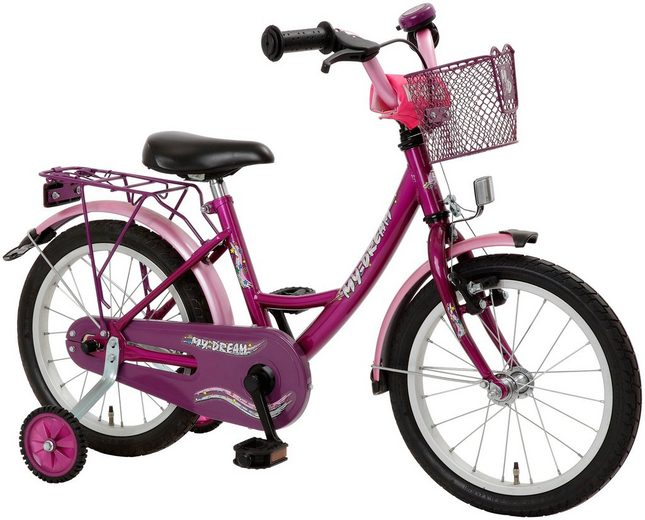 cycles4kids kinderfahrrad my dream 45 72 cm 18 zoll. Black Bedroom Furniture Sets. Home Design Ideas