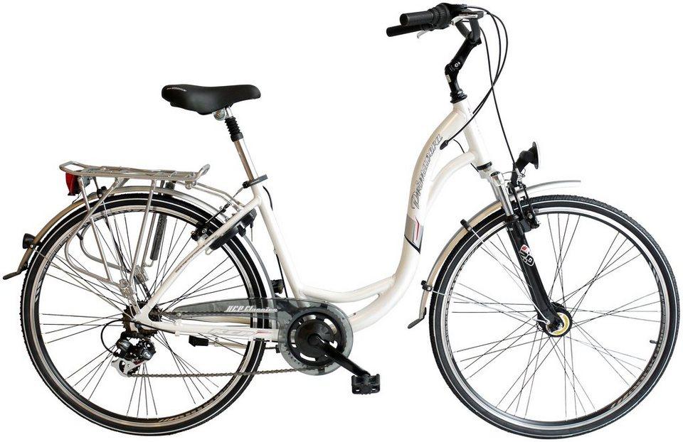 Citybike (Damen) »Primavera, 71,12 cm (28 Zoll)« in weiß