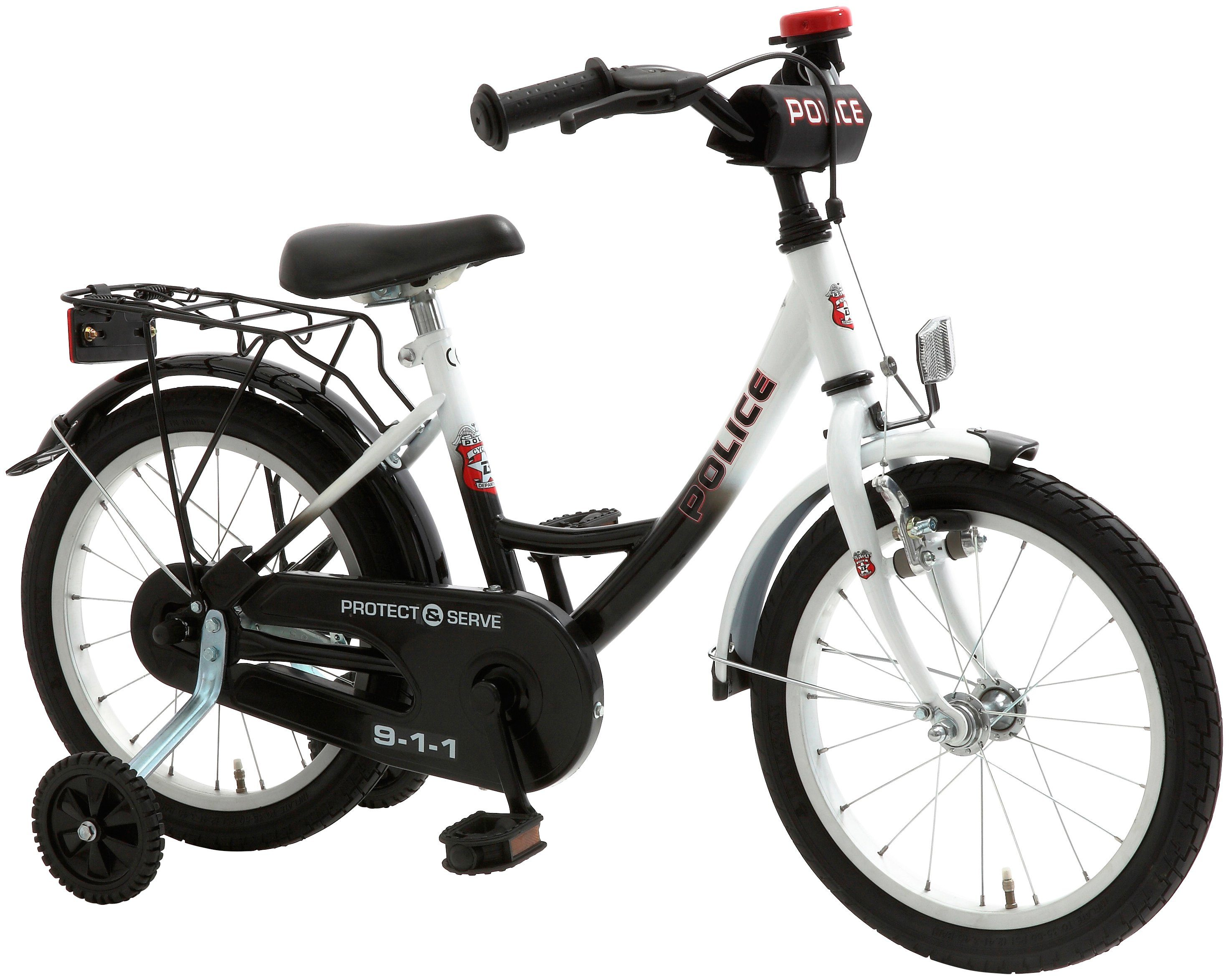 Cycles4Kids Kinderfahrrad »Police, 45,72 cm (18 Zoll)«