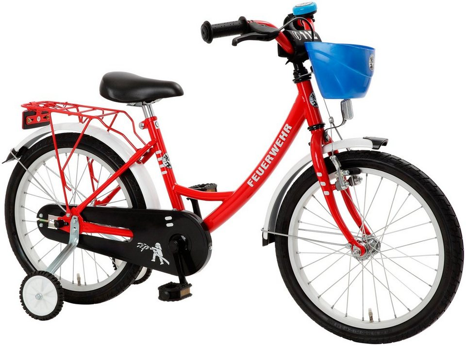 Cycles4Kids Kinderfahrrad »Feuerwehr, 40,64 cm (16 Zoll)« in rot
