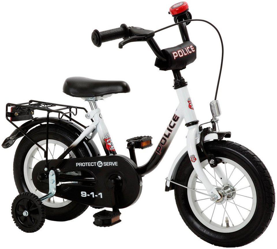 cycles4kids kinderfahrrad police 31 75 cm 12 5 zoll online kaufen otto. Black Bedroom Furniture Sets. Home Design Ideas