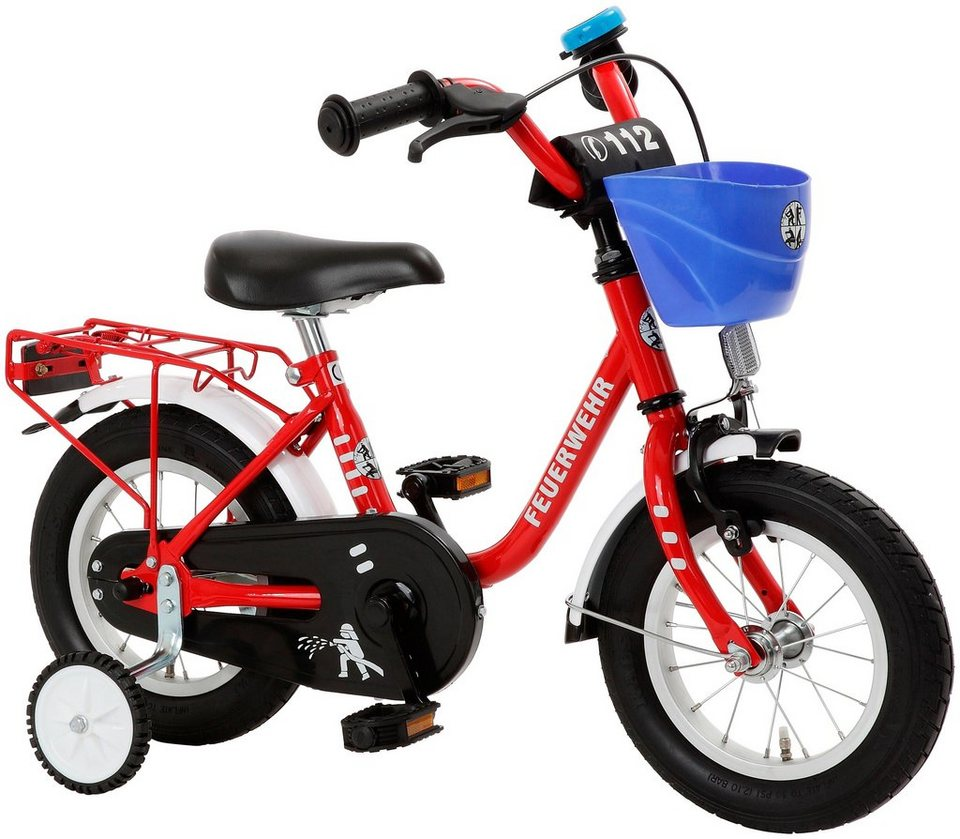 cycles4kids kinderfahrrad feuerwehr 31 75 cm 12 5 zoll online kaufen otto. Black Bedroom Furniture Sets. Home Design Ideas