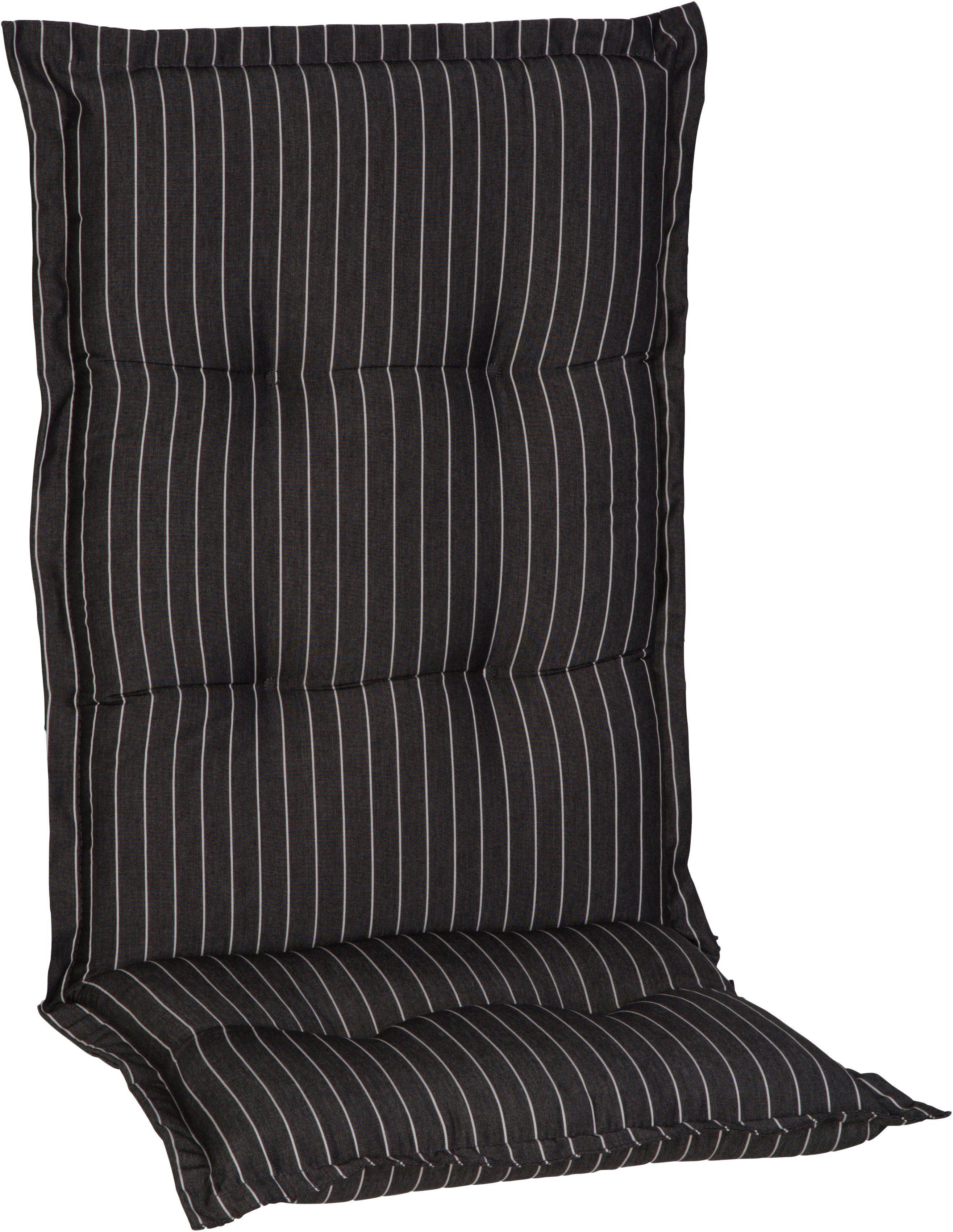 Hochlehnerauflage »Nizza«, (L/B): ca. 120x52 cm