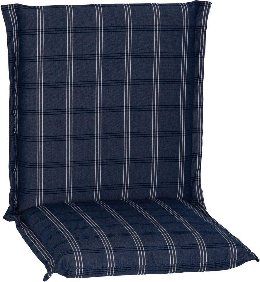 Sesselauflage »Ascot« in blau