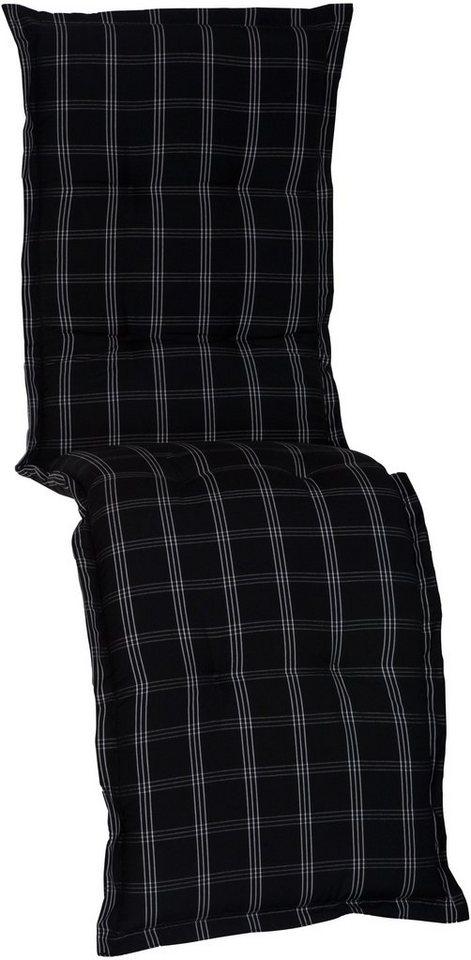 Sesselauflage »Nizza« in schwarz