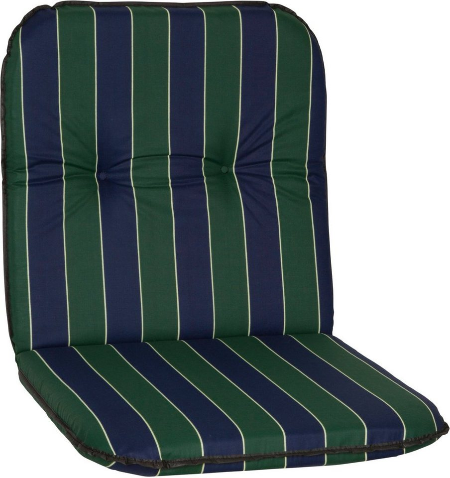 Sesselauflage »Bali« in grün/blau