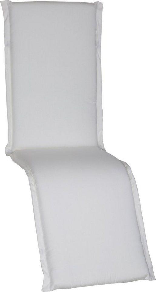 Sesselauflage »Ascot« in weiß