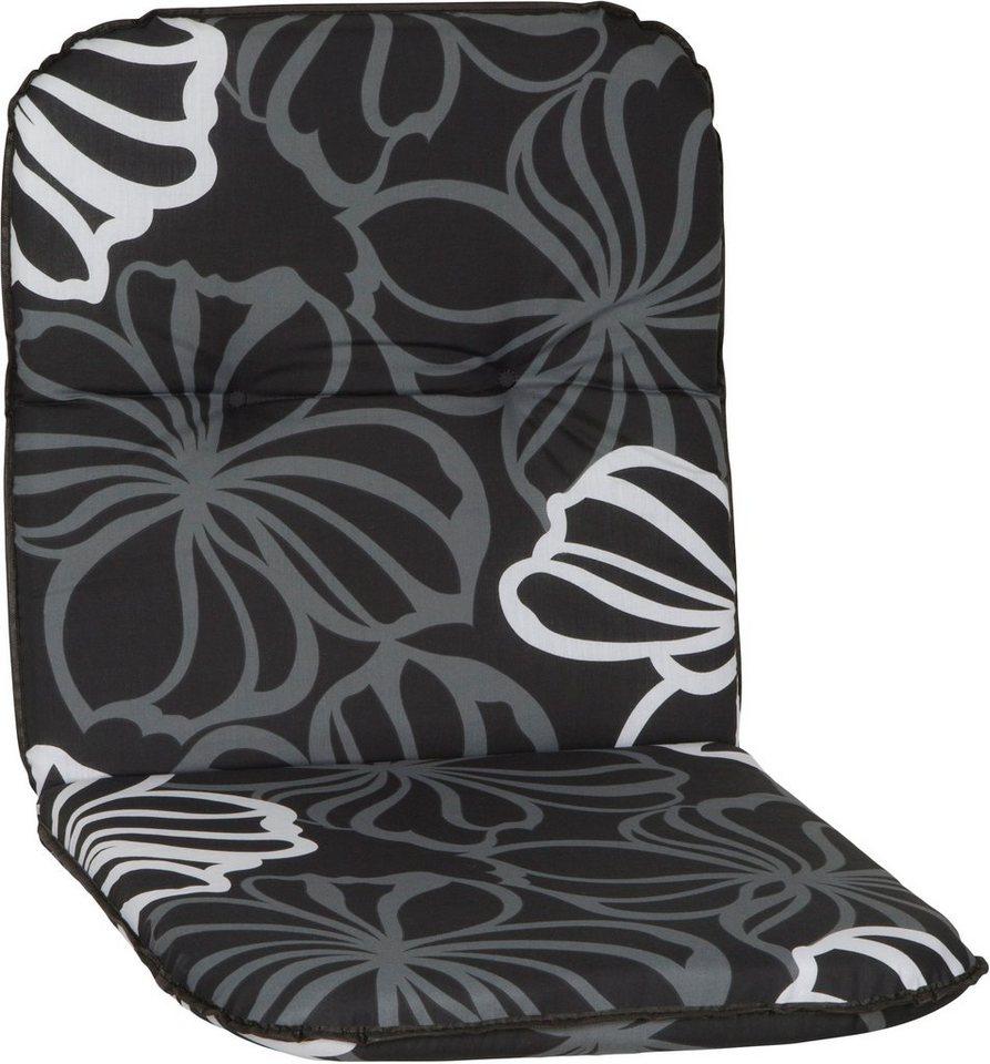 Sesselauflage »Bali« (4 Stück) in schwarz